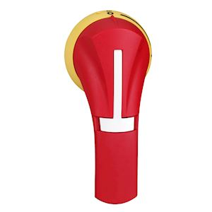 POIG EXT LAT DROITE 100..400A IP65 ROUGE