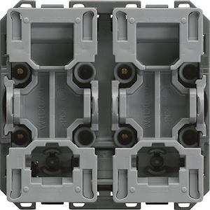 Interrupteur pour volet roulant gallery inverseur 2 modules