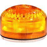 MLINE Combiné sonore/lumineux ORANGE lumière fixe/strobos 105db 32 sons IP65
