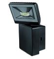 Projecteur LED 8W 6000K sans détecteur IP44  noir