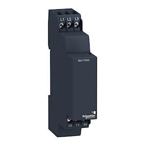 Zelio control, ordre et absence de phase, triphasé, 208-480VAC