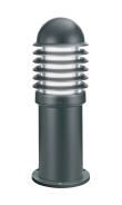 CALEO 1 - Borne Ext. IP44 IK07, noir, E27 100W max., lampe non incl., haut.42cm