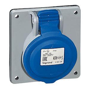 SOCLE TABLEAU 16A 2P+T 200/250V IP44