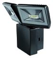 Projecteur LED 16W 6000K sans détecteur IP44  noir