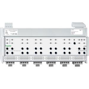 KNX - actionneur mixte stores/commutation 12x/24x/10A à commande manuelle