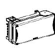Canalis KSA - coffret de dérivation 100A pour fusible NF 22x58 - 3L+N+PE