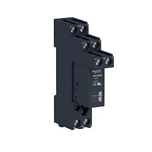 Zelio Relay RSB - relais PCB embrochable avec embase - 2OF - 8A - 24VDC