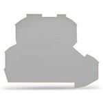 TOPJOB'S : Plaque d'extrémité et intermédiaire 2 étages 2C / Gris
