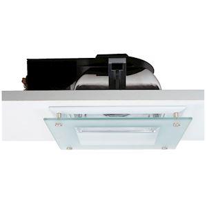 QUOR 52/G ballast électronique, encastré, blanc, verre partiellement s