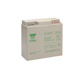 Batterie stationnaire étanche au plomb NP 17Ah 12V' bac fr