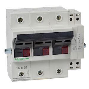 Schneider electric gk1ap05 tesys gk1 commande rotative - Sectionneur porte fusible telemecanique ...