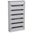 Coffret distribution isolant XL³ 160 - tout modulesulaire - 6 rangées - 144 modules
