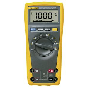 Fluke 175/F  Multimètre numérique TRMS max. 1000V AC/DC - 10A AC/DC