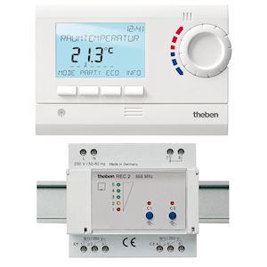 theben ram833top2hfset2 thermostat d 39 ambiance digital. Black Bedroom Furniture Sets. Home Design Ideas