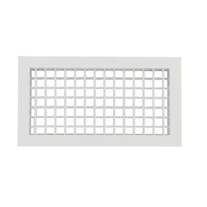chrom/é satin/é La ventilation cgv126ac-y courbe verticale en ABS de tube rond /à rectangulaire 100/mm-120/x 60/mm