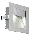 FRAME CURVE LED encastré, carré, gris argent, LED 4000K