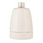 Douille Porcelain E27 Blanc