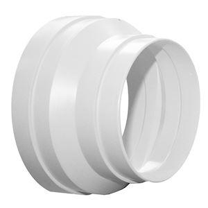 Réduction conique plastique, raccordement D 150/125 mm