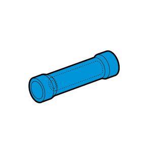 Manchons préisolés bout à bout bleues (1,5 à 2,5 mm²)