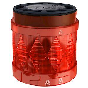 Harmony XVU - élément lumineux D=60 - DEL - fixe - 24VDC - rouge