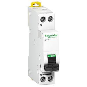 Prodis DT40N - disjoncteur - 1P+N - 40A - courbe D