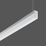 Suspension Less is more 21 LED/24,2W-4000K 1508x21x36,DALI
