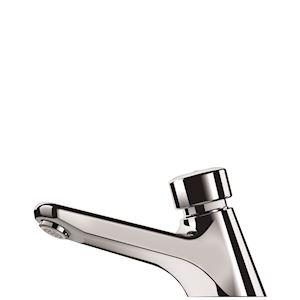 TEMPOSTOP M1/2' lavabo robinet temporisé ~7sec + c/écrou
