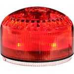 MLINE Combiné sonore/lumineux ROUGE lumière fixe/strobos 105db 32 sons IP65