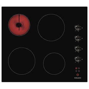 Plaque de cuisson 60 cm Vitrocéramique Noir