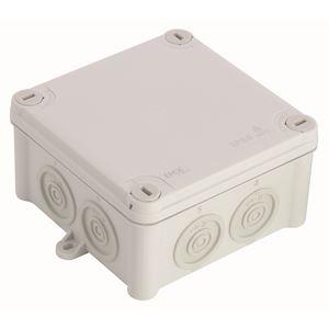(x 25) Boîte de dérivation IP55 105 x 105 couvercle à vis 1/4 de tour