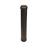 Elément droit D= 80/130 mm, long. 1000 mm ventouse pour poêle granulés de bois