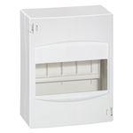 Coffret cache-bornes 6 modules - blanc RAL9010