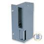 Gâche applique réversible verticale 120mm 2 temps émission 12V AC/DC