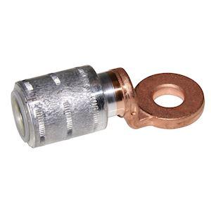 ACX 95 - Cosse Alu-Cuivre industrie ACX 95mm²-Trou de bornage: 10,3mm