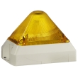 Feu flash 5J pyramidal 24Vcc/ca Rouge IP66