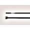 Collier 210x4.7 mm en PA66 noir Stabilisé UV - Q50R