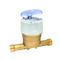 Cpteur divisionnaire volumétrique AQUADIS eau froide lg 110 dn15 20x27. Pré équi