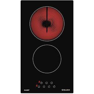 Plaque de cuisson 30 cm Vitrocéramique Noir