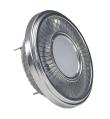 LED QRB111, gris argent, 19,5W, 140DEG, 4000K, variable