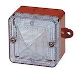 Feu flash LED haute luminosité 230Vca LED Rouge IP66