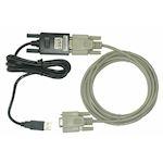 Kit adaptateur USB RS232 + cordon null modem