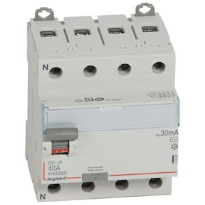 LEGRAND 406804 Disjoncteur P+N DNX³4500 25A courbe D