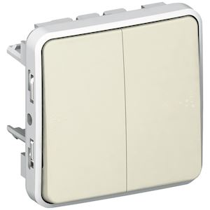 SE GWP1632 3 Gang 2 Voie IP55 Interrupteur étanche 10AX