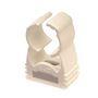 Collier clipsable automatique blanc 16 à 20 mm