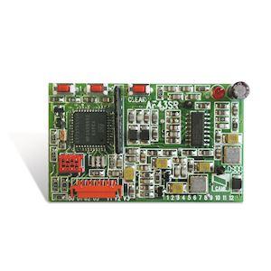Carte radio fréquence embrochable en 433,92 MHz
