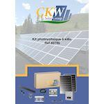 Kit Solaire string 6W-triphasé-20 PV 300W-monitoring-toit tuile ETN-Coffret AC