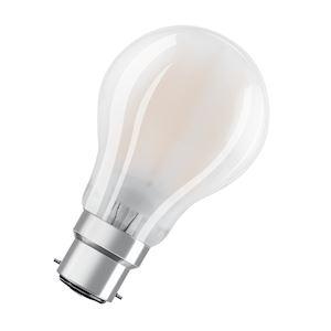 LED CLASSIC OSRAM PARATHOM CLA60 Verre Dépolie B22 7W 806lm 2700K