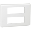Plaque Programme Mosaic - 2x6 modules - Blanc