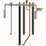 Kit de raccordement central avec robinets eau/gaz pour chaudière AGC, EGC