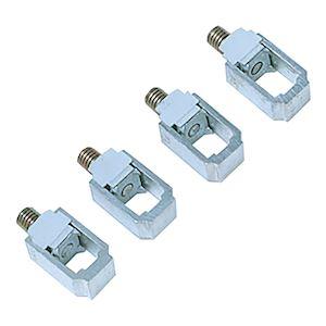 Multi9 - bornes aluminium pour NG125 Vigi NG125 - jeu de 4